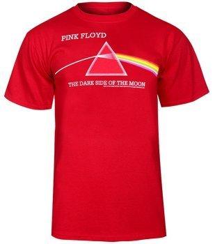 koszulka PINK FLOYD - DARK SIDE OF THE MOON RED
