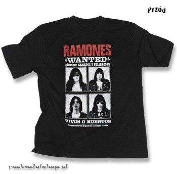 koszulka RAMONES - WANTED