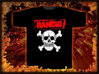 koszulka  RANCID - OLD SKULL