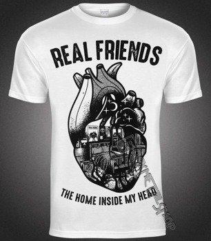 koszulka REAL FRIENDS - HEART