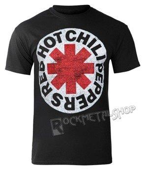 koszulka RED HOT CHILI PEPPERS - WHITE CIRCLE ASTERISK