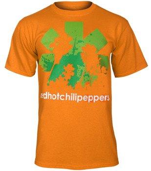 koszulka RED HOT CHILI PEPPERS pomarańczowa