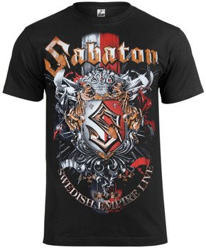 koszulka SABATON - SWEDISH EMPIRE LIVE
