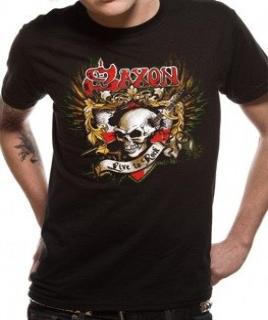 koszulka SAXON - LIVE TO ROCK