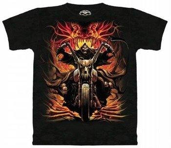 koszulka SKULBONE - GRIM RIDER