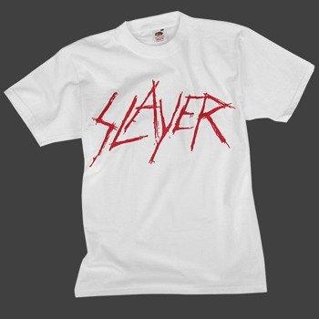 koszulka SLAYER - LOGO biała