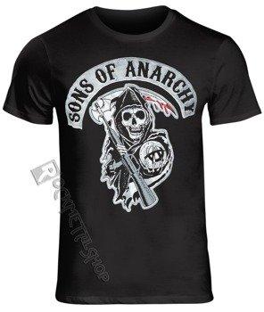 koszulka SONS OF ANARCHY MAN - DEATH REAPPER PATCH