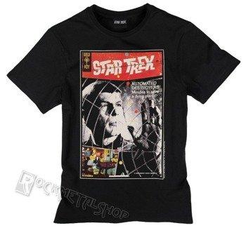 koszulka STAR TREK - POSTER czarna