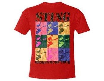 koszulka STING - WARHOL RED