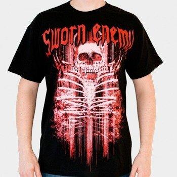 koszulka SWORN ENEMY - SKULL BLACK (BLACK)