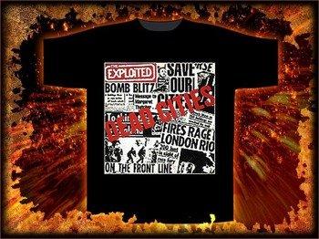 koszulka THE EXPLOITED - DEAD CITIES