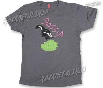koszulka  THE GOSSIP - SKUNX  GRY