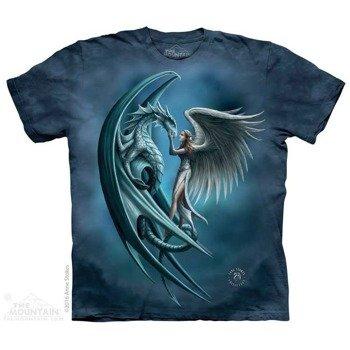 koszulka THE MOUNTAIN - ANGEL AND DRAGON, barwiona