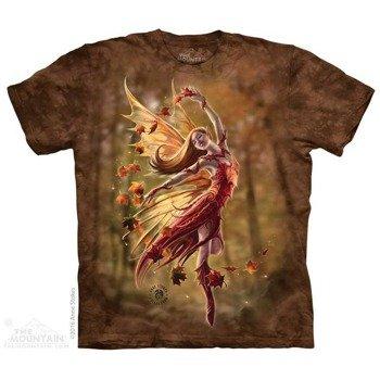 koszulka THE MOUNTAIN - AUTUMN FAIRY, barwiona