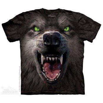 koszulka THE MOUNTAIN - BIG FACE ATTACK FACE, barwiona