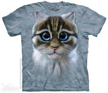 koszulka THE MOUNTAIN - CATTEN, barwiona