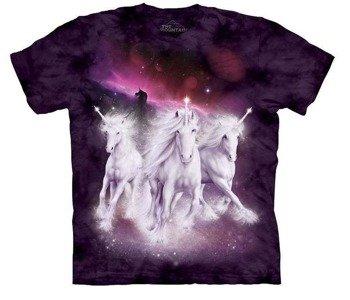 koszulka THE MOUNTAIN - COSMIC UNICORNS, barwiona