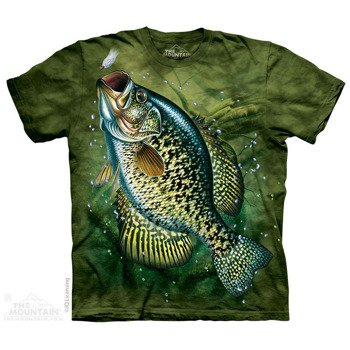 koszulka THE MOUNTAIN - CRAPPIE AQUATIC, barwiona