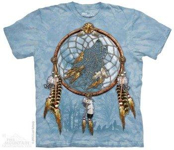 koszulka THE MOUNTAIN - DREAM WOLF, barwiona