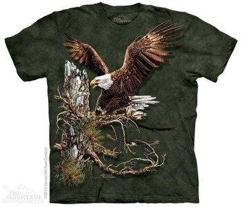 koszulka THE MOUNTAIN - FIND 12 EAGLES, barwiona