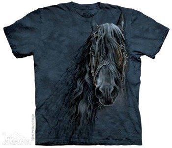 koszulka THE MOUNTAIN - FOREVER FRIESIAN, barwiona