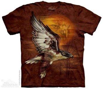 koszulka THE MOUNTAIN - HAWK SUN, barwiona