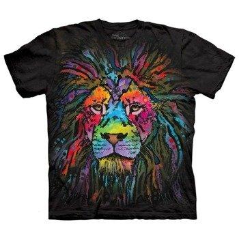 koszulka THE MOUNTAIN - MANE LION, barwiona