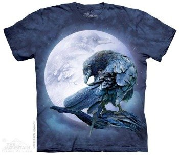 koszulka THE MOUNTAIN - RAVEN MOON, barwiona