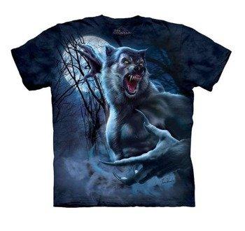 koszulka THE MOUNTAIN - RIPPED WEREWOLF, barwiona