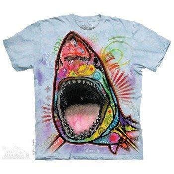 koszulka THE MOUNTAIN - RUSSO SHARK, barwiona