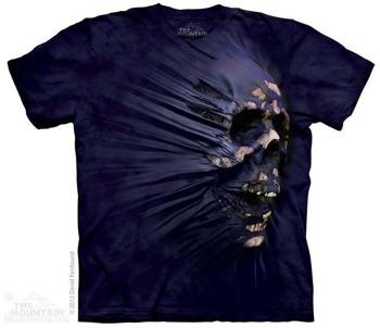 koszulka THE MOUNTAIN - SIDESKULL BREAKTROUGH, barwiona