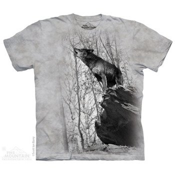 koszulka THE MOUNTAIN - SYMMETRY WOLVES, barwiona