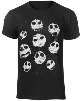 koszulka THE NIGHTMARE BEFORE CHRISTMAS - JACK FACES