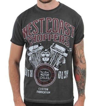 koszulka WEST COAST CHOPPERS - DEATH GLORY antracyt