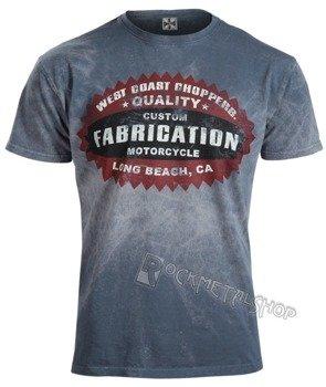 koszulka WEST COAST CHOPPERS - PANHEAD vintage blue
