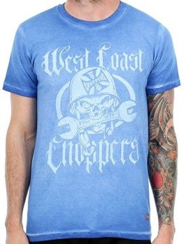 koszulka WEST COAST CHOPPERS - WTF-FTW VINTAGE