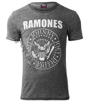 koszulka dekatyzowana RAMONES - PRESIDENTIAL SEAL CRACK INK