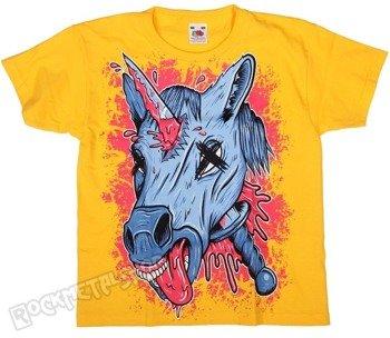koszulka dziecięca BLACK ICON - UNICORPSE żółta (JICON105YELOW)