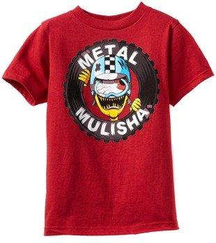 koszulka dziecięca METAL MULISHA - CRASH czerwona
