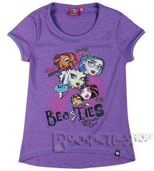koszulka dziecięca MONSTER HIGH - BEASTIES dla dziewczynki