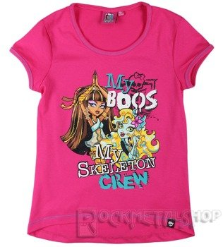 koszulka dziecięca MONSTER HIGH - MY SKELETON CREW dla dziewczynki