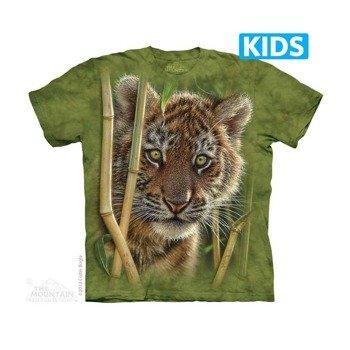 koszulka dziecięca THE MOUNTAIN - BABY TIGER, barwiona