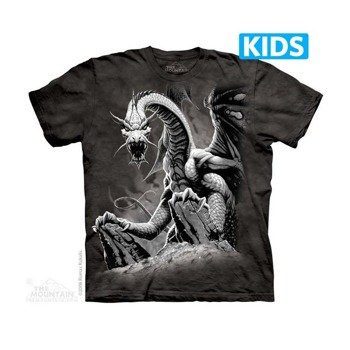 koszulka dziecięca THE MOUNTAIN - BIG DRAGON, barwiona