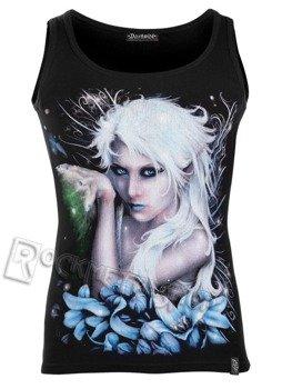 koszulka na ramiączka DARKSIDE - BLUE FLOWER PIXIE