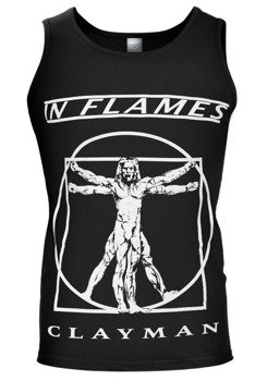 koszulka na ramiączkach IN FLAMES - CLAYMAN