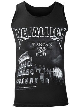 koszulka na ramiączkach METALLICA - FRANCAIS POUR UNE NUIT