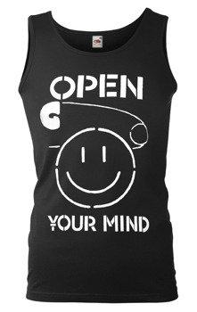 koszulka na ramiączkach OPEN YOUR MIND