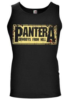 koszulka na ramiączkach PANTERA - COWBOYS FROM HELL