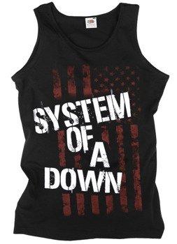 koszulka na ramiączkach SYSTEM OF A DOWN - FLAG