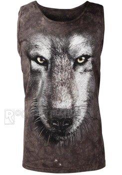 koszulka na ramiączkach THE MOUNTAIN - WOLF FACE